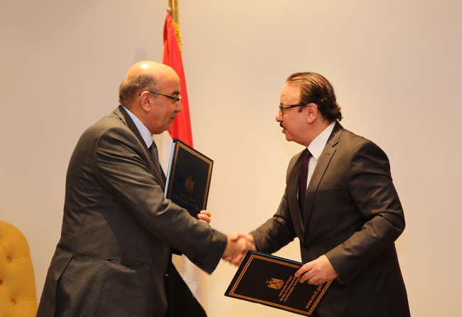 MoU between MCIT, 'Long Live Egypt' Fund to Support Sisi Initiative