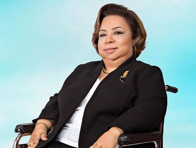 Dr. Heba Hagras member of the Egyptian Parliament