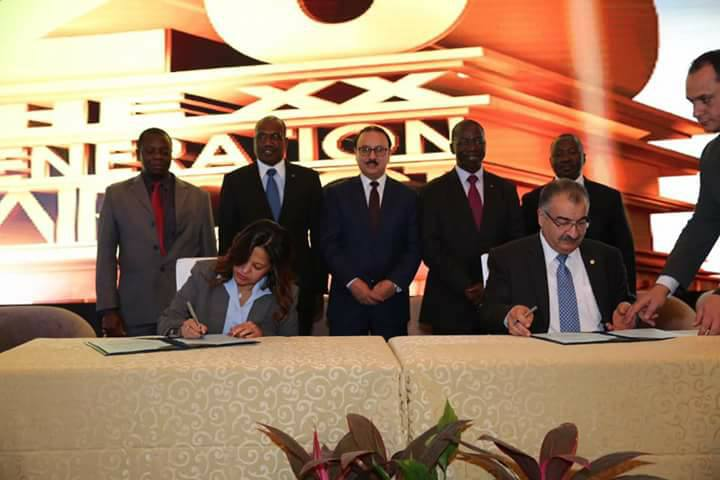 ICT Minister Witnesses Signing Agreement between MCIT, ITU to Launch PWDs Regional ICT Center