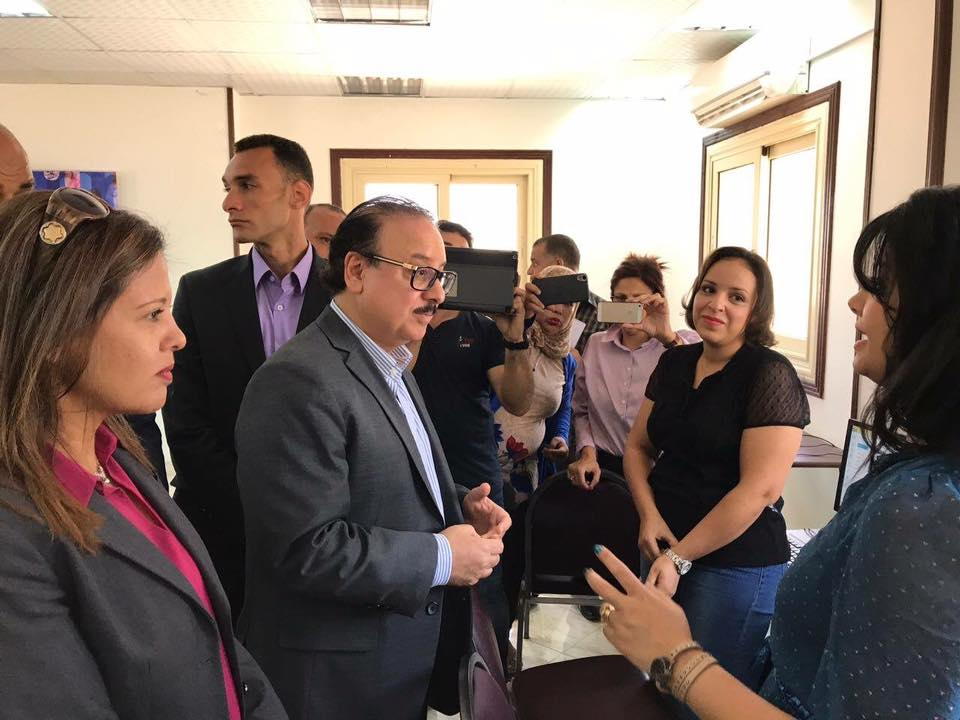 ICT Minister Opens Community Centers in South Sinai to Serve PwDs, Empower Women